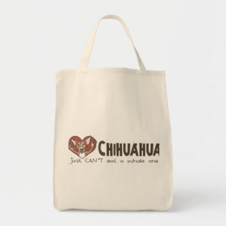 I chihuahua del corazón bolsas de mano