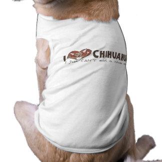 I chihuahua del corazón ropa de perros