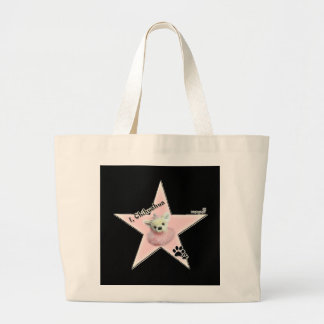 I ,Chihuahua Doggy-Bag Jumbo Tote Bag