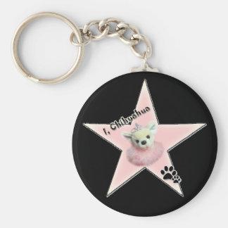 i,chihuahuastar key chain