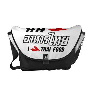 I Chili (Love) Thai Food Messenger Bag