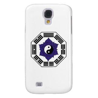 I Ching Black Lotus YinYang Galaxy S4 Cover