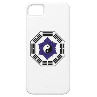 I Ching Black Lotus YinYang iPhone SE/5/5s Case