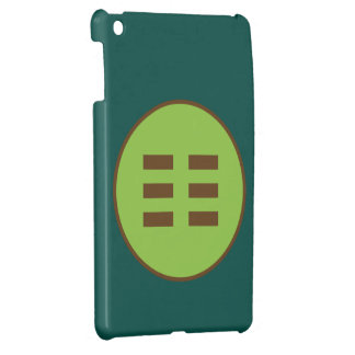 I Ching Earth Trigram (Kun) iPad Mini Cover