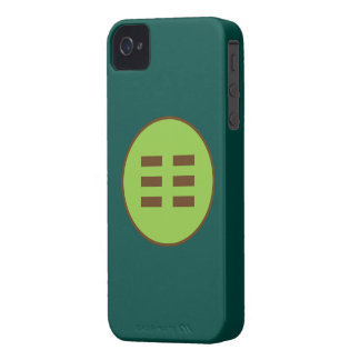 I Ching Earth Trigram (Kun) iPhone 4 Case-Mate Case