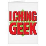 I Ching Geek v2 Greeting Card