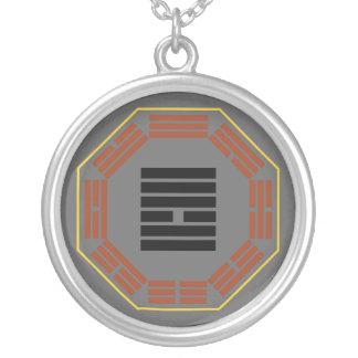"""I Ching Hexagram 10 Lu """"Treading"""" Round Pendant Necklace"""