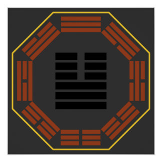 "I Ching Hexagram 11 T'ai ""Tranquility"" Poster"