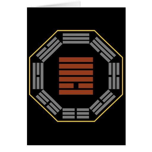 """I Ching Hexagram 13 T'ung Jen """"Fellowship"""" Card"""