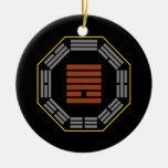 "I Ching Hexagram 13 T'ung Jen ""Fellowship"" Christmas Ornament"