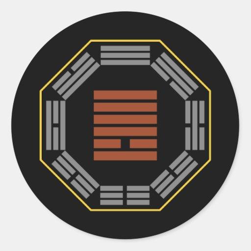 "I Ching Hexagram 13 T'ung Jen ""Fellowship"" Stickers"