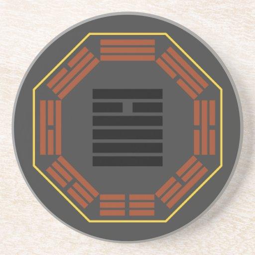 "I Ching Hexagram 14 Ta Yu ""Abundance"" Coaster"
