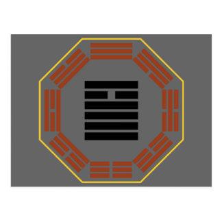 "I Ching Hexagram 14 Ta Yu ""Abundance"" Postcard"