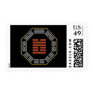 "I Ching Hexagram 17 Sui ""Following"" Stamps"