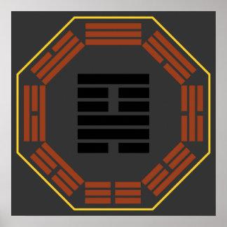 I Ching Hexagram 18 Ku Restoration Print