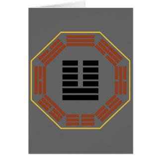 "I Ching Hexagram 19 Lin ""Nearing"" Card"