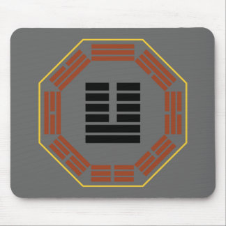 """I Ching Hexagram 19 Lin """"Nearing"""" Mouse Pad"""