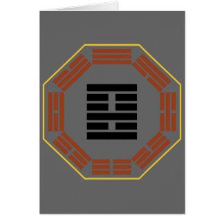 """I Ching Hexagram 22 Pi """"Adoring"""" Greeting Card"""