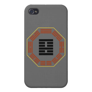 """I Ching Hexagram 22 Pi """"Adoring"""" iPhone 4/4S Cover"""