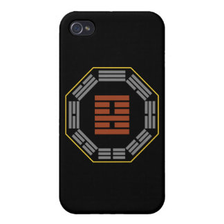 """I Ching Hexagram 22 Pi """"Adoring"""" Cover For iPhone 4"""