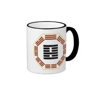 "I Ching Hexagram 22 Pi ""Adoring"" Coffee Mugs"