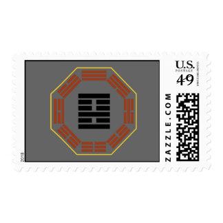 """I Ching Hexagram 22 Pi """"Adoring"""" Stamps"""