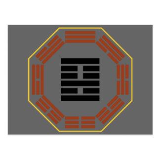 "I Ching Hexagram 22 Pi ""Adoring"" Postcard"