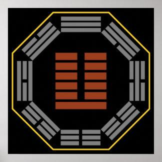 "I Ching Hexagram 24 Fu ""Returning"" Posters"