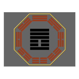 "I Ching Hexagram 25 Wu Wang ""Innocence"" Postcard"