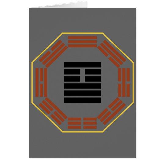 """I Ching Hexagram 26 Ta Ch'u """"Great Accumulating"""" Card"""