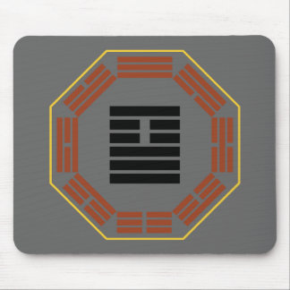 "I Ching Hexagram 26 Ta Ch'u ""Great Accumulating"" Mouse Pad"