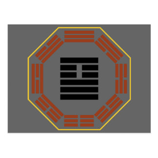 "I Ching Hexagram 26 Ta Ch'u ""Great Accumulating"" Postcard"