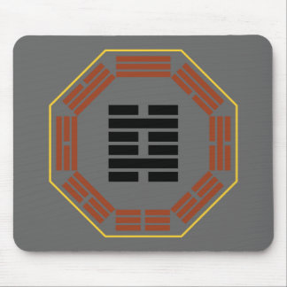 """I Ching Hexagram 29 K'an """"The Abyss"""" Mouse Pad"""