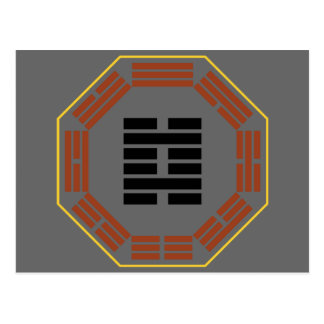 "I Ching Hexagram 29 K'an ""The Abyss"" Postcard"