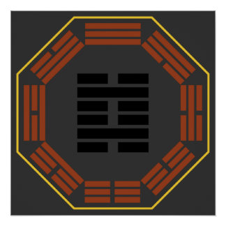 """I Ching Hexagram 29 K'an """"The Abyss"""" Posters"""