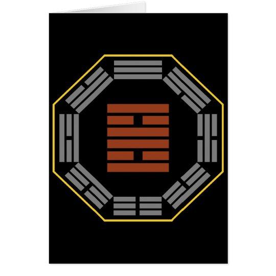 "I Ching Hexagram 30 Li ""Fire"" Card"