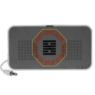 "I Ching Hexagram 30 Li ""Fire"" Portable Speakers"