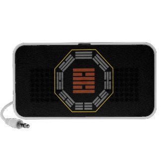 """I Ching Hexagram 30 Li """"Fire"""" Portable Speaker"""