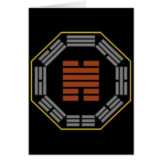 """I Ching Hexagram 31 Hsien """"Conjoining"""" Card"""