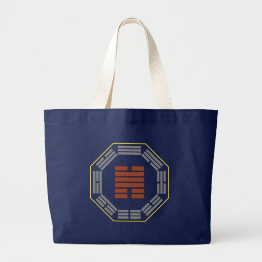 "I Ching Hexagram 31 Hsien ""Conjoining"" Large Tote Bag"