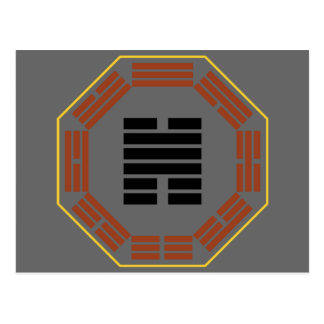 """I Ching Hexagram 31 Hsien """"Conjoining"""" Postcard"""