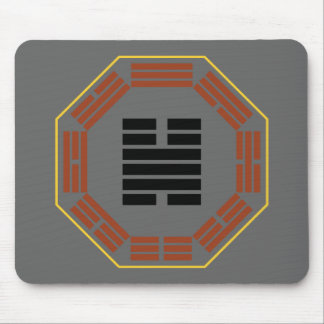 """I Ching Hexagram 32 Heng """"Persevering"""" Mouse Pad"""