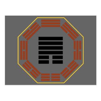 "I Ching Hexagram 33 Tun ""Retreat"" Postcard"