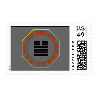 "I Ching Hexagram 34 Ta Chuang ""Great Invigorating"" Postage Stamp"