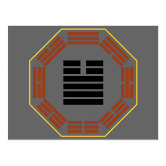 "I Ching Hexagram 34 Ta Chuang ""Great Invigorating"" Postcard"