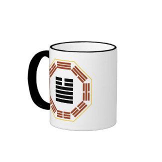 "I Ching Hexagram 34 Ta Chuang ""Great Invigorating"" Ringer Mug"