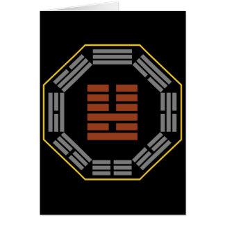 "I Ching Hexagram 36 Ming I ""Brightness Hiding"" Card"