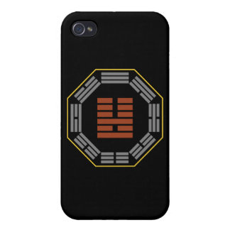 "I Ching Hexagram 36 Ming I ""Brightness Hiding"" iPhone 4/4S Cases"