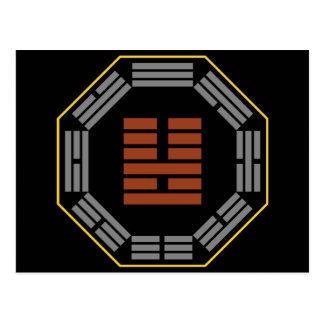 "I Ching Hexagram 36 Ming I ""Brightness Hiding"" Postcards"