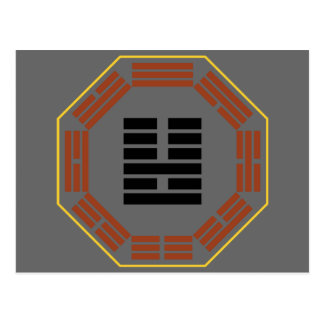 "I Ching Hexagram 36 Ming I ""Brightness Hiding"" Postcard"